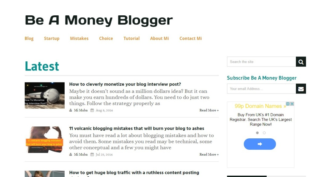 Be-A-Money-Blogger